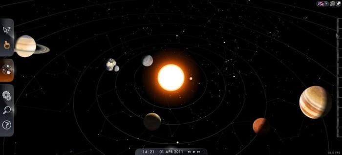 Media pembelajaran Astronomi  3D 1