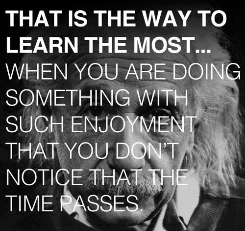Cara belajar yang baik menurut Albert Einstein