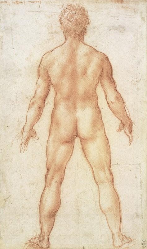 Lukisan Leonardo Da Vinci tentang anatomi manusia 7