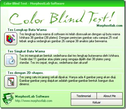 Software untuk test butawarna